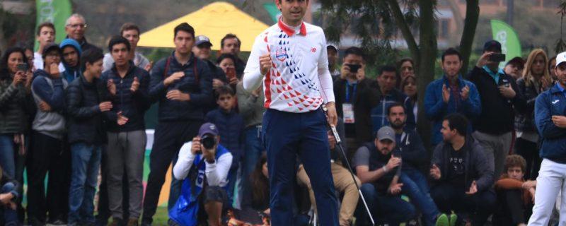 El golf consigue medalla de oro para Paraguay
