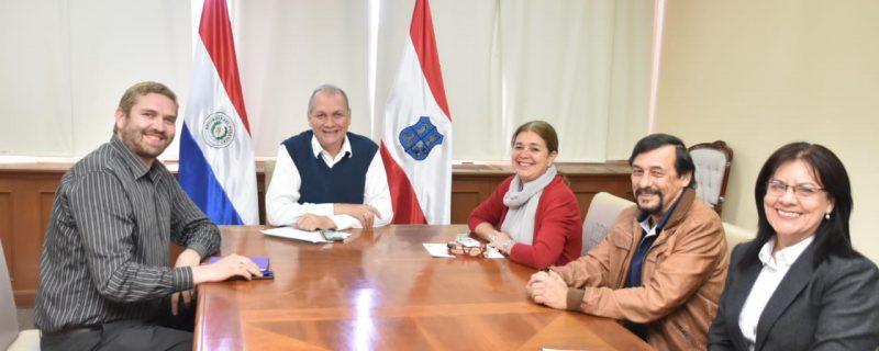 Intendente de Asunción recibió a vicepresidente del CPDP