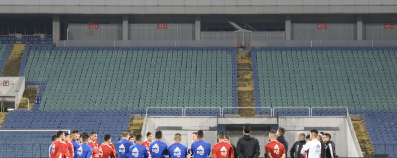 La Albirroja juega frente a Bulgaria
