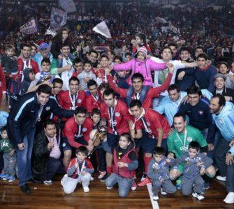 Cerro Porteño (foto) se consagró campeón de la Copa Libertadores de futsalFIFA.