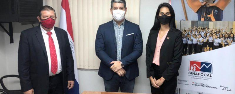 Secretario técnico de Sinafocal recibió al director académico del CPDP
