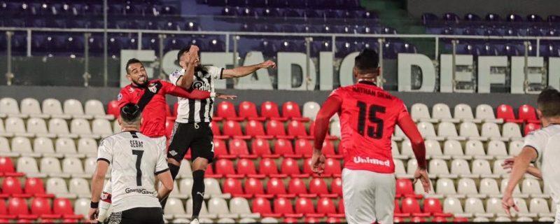 Libertad quedó sin invicto en la Sudamericana
