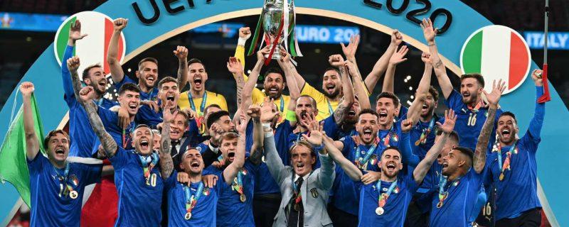 Italia es campeón de la UEFA